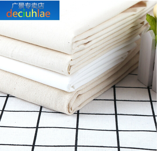 deciuhlae 155cm vải trắng bông vải bông màu trắng đến từ đến từ. Đâm thiết kế phục trang lập quyết đ
