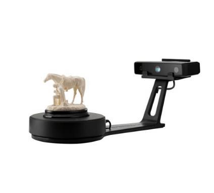 SHINING 3D Còn ba chiều đầu tiên (SHINING 3D) EinScan-SE ba chiều máy quét màu trước màn hình máy qu