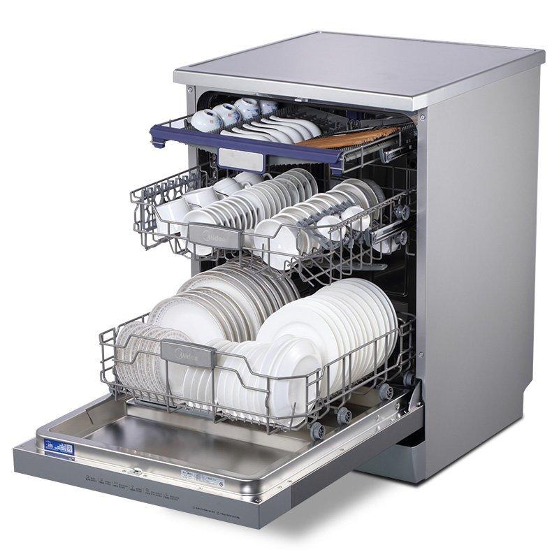 Máy rửa chén   Vẻ đẹp của Midea WQP8-7602-CN 9 hệ nhúng rửa bát gia dụng tự động hoàn toàn độc lập c