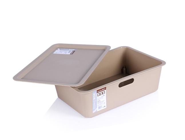 CHAHUA Trà hoa nhựa lấy đồ lót vớ lấy cái hộp hộp nữ trang A4 màn hình xếp ngăn chứa văn phòng ký tú
