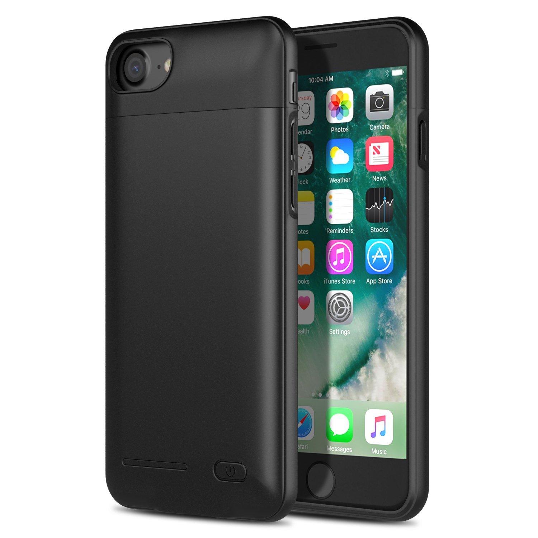 MoKo   Mỹ MoKo Apple iPhone 7 clip sạc pin sau 3.000 Ma báu táo 7 an toàn phòng cạo vỏ bảo vệ bộ sạc