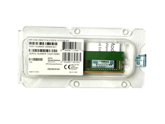 HP Máy phục vụ, Hewlett - Packard (HP) HPE bộ nhớ máy phục vụ ECC mới ráp xong (UDIMM không có đệm h