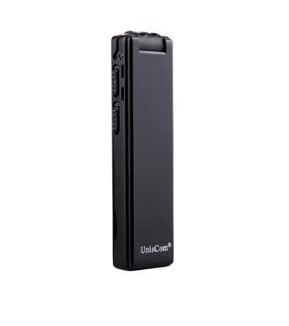 Uniscom Uniscom bút camera quay phim ghi âm chuyên nghiệp đầu dò máy ghi âm phiên bản đen quay 1088