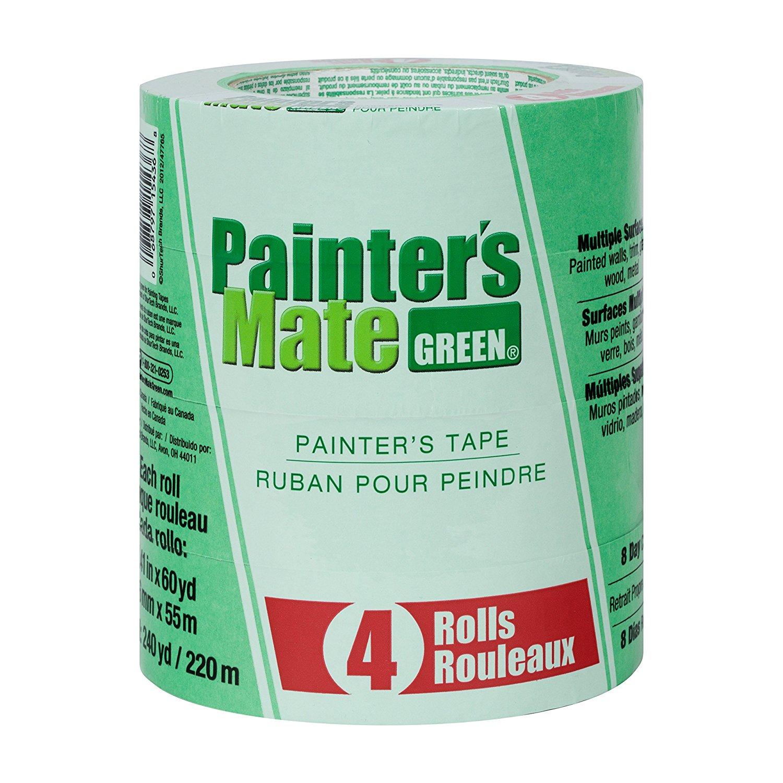 Thị trường phụ kiện máy móc  Họa sĩ của bạn 684275 Green 8 bức tranh mang, 1.41-inch 60 trận, 4 gói