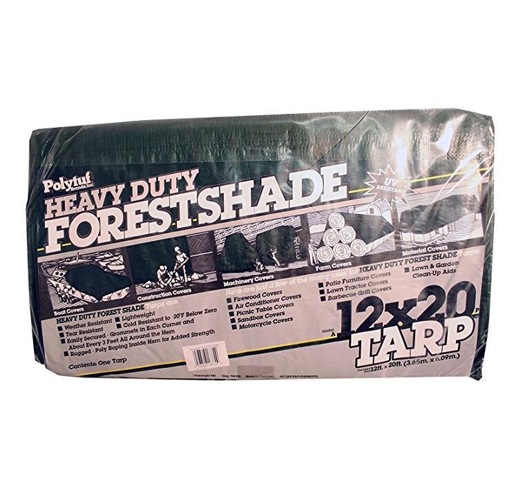 a12x20-p nặng 4,5 lạng rừng che nắng vải bạt nhựa, 12 x 20