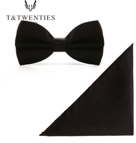 T&Twenties T&Twenties người đàn ông nơ túi ngực cài áo khăn cân cân bộ Bộ Thương mại quý ông nơ