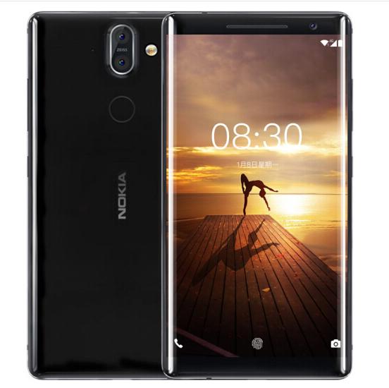 Nokia (NOKIA) 8Sirocco điện thoại 6GB+128GB đen.