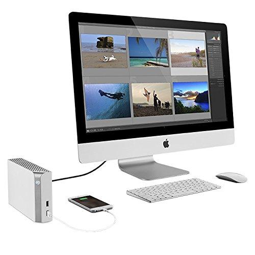 Ổ cứng di động   dự trữ Seagate Technology với 8 TB ổ cứng máy tính dùng để đón ngoài hệ thống táo (
