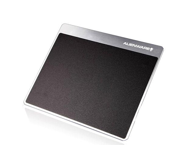Alienware Người ngoài hành tinh Alienware Mousepad nhôm kim loại tấm đệm bàn chơi tấm lót chuột đen