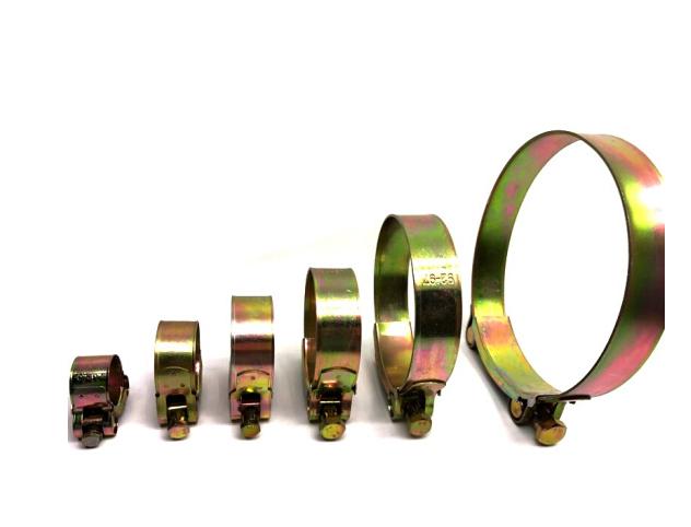 FGHGF mạ kẽm màu Châu Âu mạnh mẽ bọc sắt kẽm thẻ nước đấy. Cái vòng ôm cái vòng kẹp một ống cũng 15