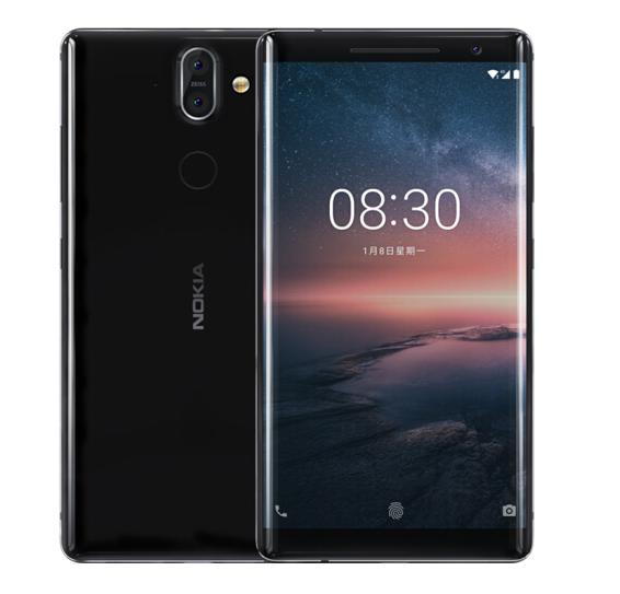 Nokia Nokia 8 + Đun nóng 6GB 128GB màu đen toàn trò chơi điện thoại di chuyển 4G đơn card điện thoại