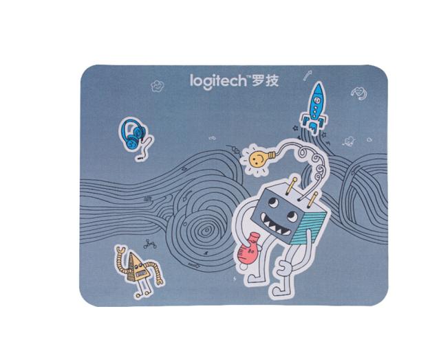 Logitech Logitech (Logitech) Meng thắt Mousepad Office game Mousepad 24mmX30mmm mẫu ngẫu nhiên.