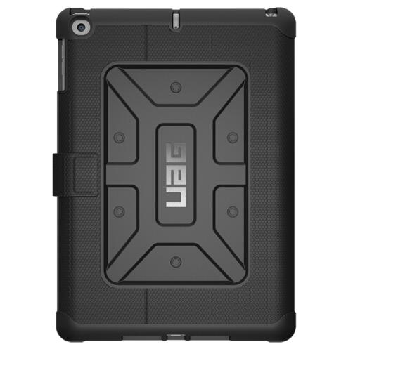 UAG 9.7 inch 2017 chứ bộ. Bảo vệ chống và bảo vệ tấm vỏ đen UAG bộ iPad.