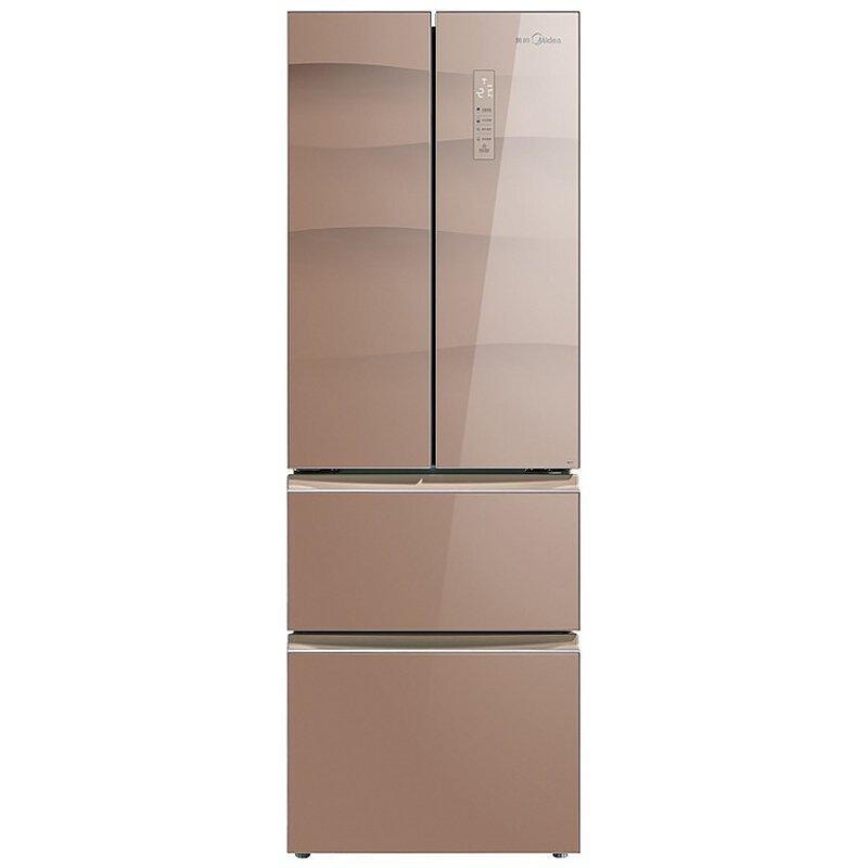 Midea Vẻ đẹp của Midea BCD-380WGPZM 380 lít phải mở cửa tủ lạnh gia dụng thay đổi tần số không có s
