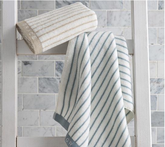 Grace 148cm (Grace) khăn vằn series kinh điển mạnh hút khăn hai đường nạp Lan / nâu, 72*34cm