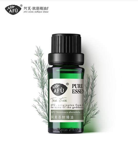 (AFU) trà tinh dầu 10ml (bài thuốc dân gian mụn nhọt rồi cơ co luồng không khí các chất tinh dầu)