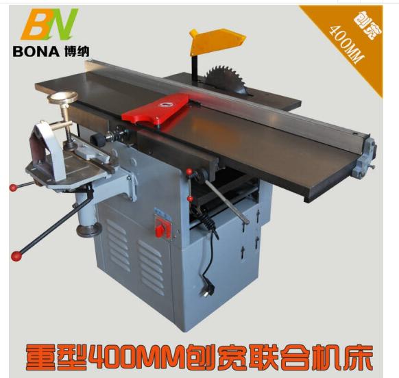 BUBUNIU Có nhiều khả năng máy công cụ mộc planer 40 bào rộng máy bào áp bào máy cưa 380V3KW không đẩ