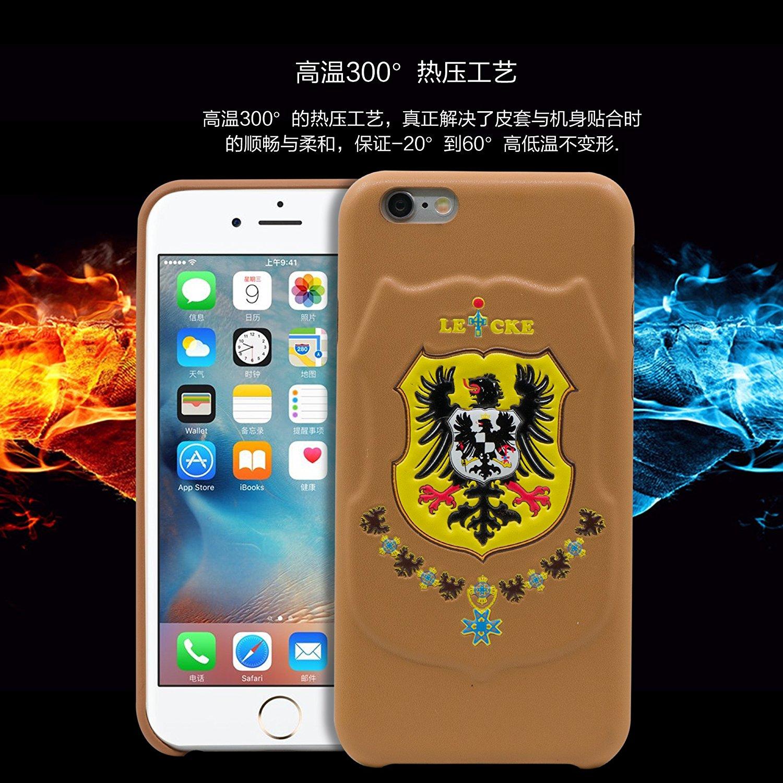 Leicke Đức Leicke Lake iPhone6s Plus là điện thoại di động hệ quả táo 6 Plus bảo vệ vỏ điện thoại lấ