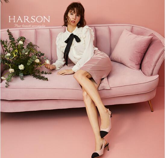 Harson Da cừu hỗn hợp Hassan 2018 mùa hè màu loại trừ các từ mang vải với các màu hồng với dép giày