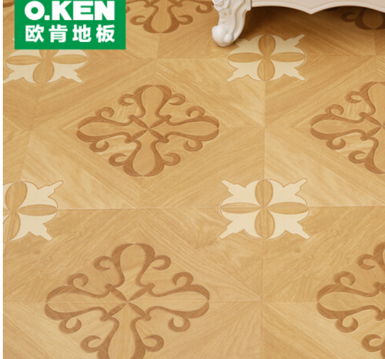 O.KEN (O.KEN) sàn tăng cường hợp sàn gỗ 12mm sàn 8309 mài mòn không thấm nước