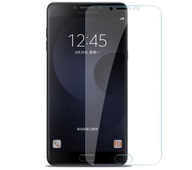 LEIWEI Điện thoại di động Lumpy Uy Samsung C9pro thuỷ tinh công nghiệp màng màng màng độ nét cao độ