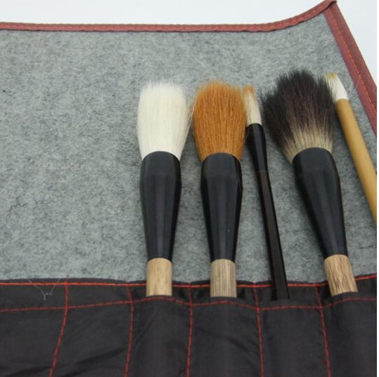 wuyouwuyu Bao bì lưu trữ quần áo Vật có túi bút bút lông Monogatari bút lông rèm Rèm rèm bút bút lôn