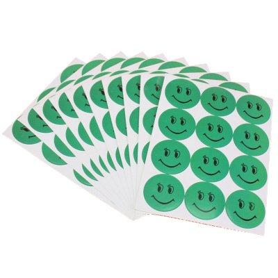 UTAVO Cùng với văn phòng tổng cộng 30 gương mặt cười 3 gói dán nhãn dán nhãn xanh mặt cười nụ cười t