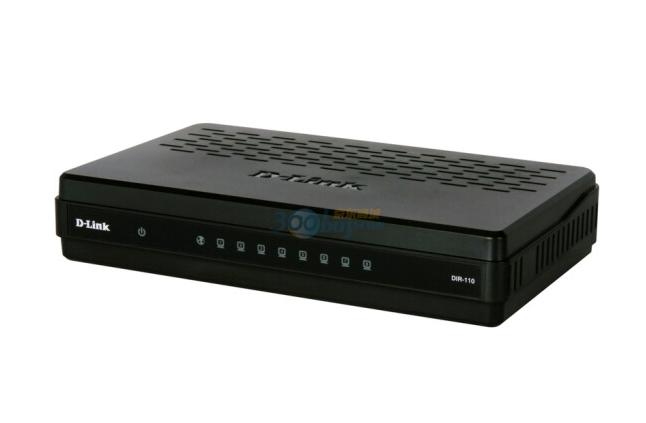 D-Link (D-Link) DLink DIR-110 8 bộ định tuyến băng thông rộng miệng nối