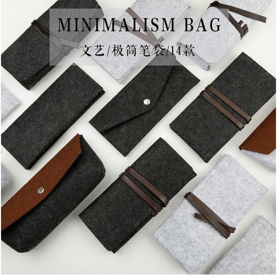 Do Dower Bao bì lưu trữ quần áo Phong cách thiết kế đơn giản len dạ văn phòng phẩm Kit lấy túi chọn
