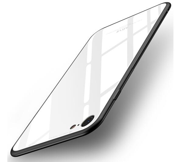 msvii Mose, chiều điện thoại vỏ táo 6S iPhone6splus chống và bảo vệ bộ / đầy kính chống đạn. silica