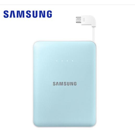SAMSUNG Samsung (SAMSUNG) sạc bảo mới ráp xong 8400 ma chuyển điện S8 note8 S7 Edge màu xanh.