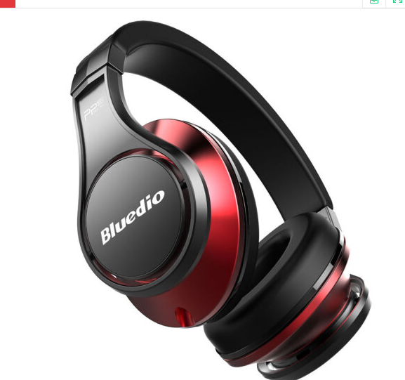Bluedio Bluedio/ UFO tai nghe Bluetooth không dây xanh dây nhạc đầu đeo tai nghe con chíp HIFI formu