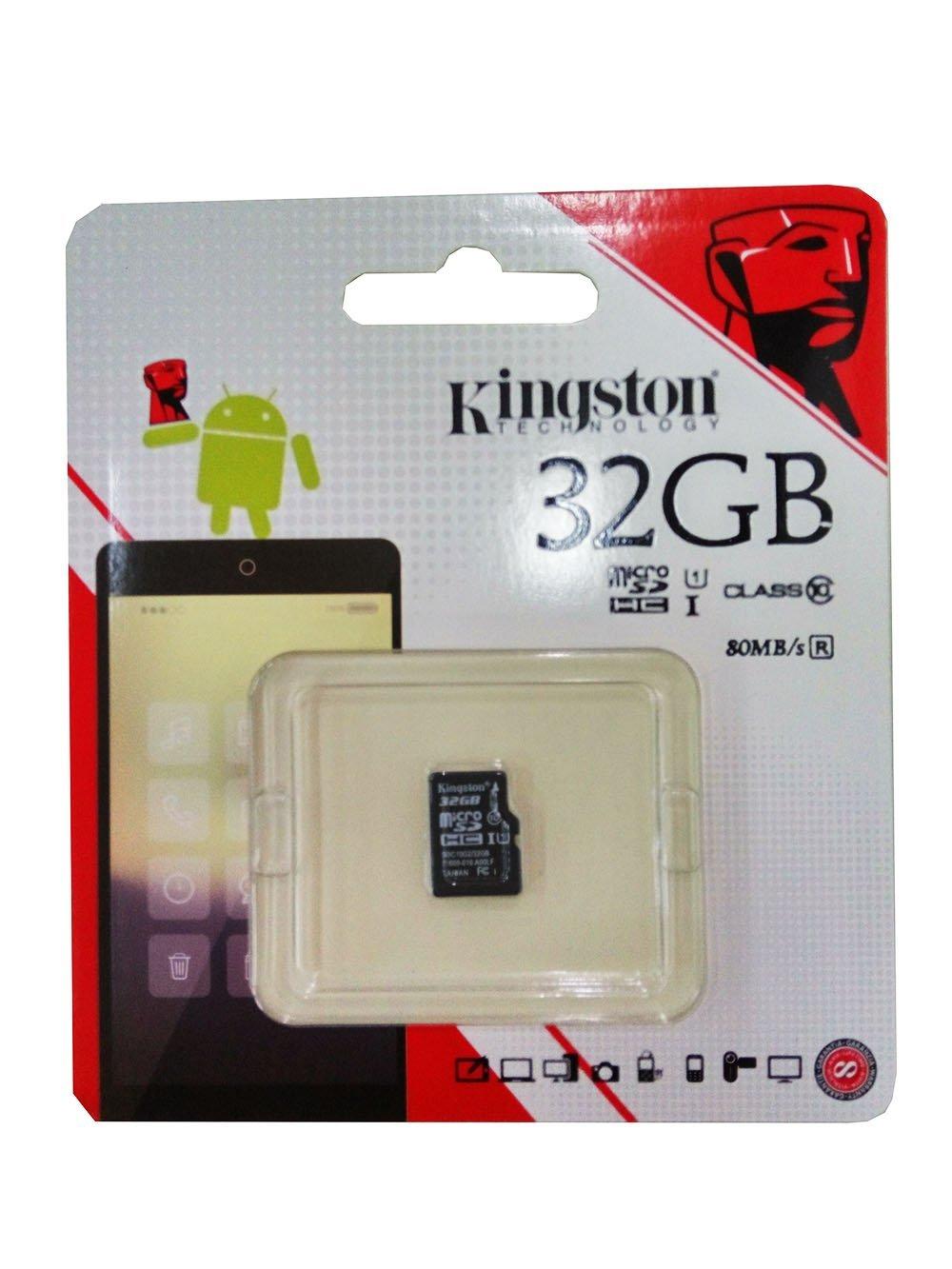 Kingston Kingston đọc tốc độ Class10 32G TF (micro SD) tốc độ lưu trữ thẻ 80MB/s