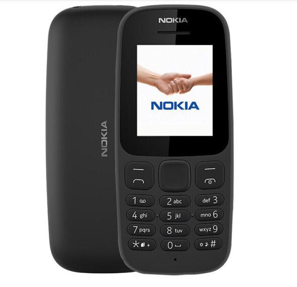 Nokia (NOKIA) ấn bản mới ông già 105 máy điện thoại sinh viên Dự bị đen (đơn card Edition)