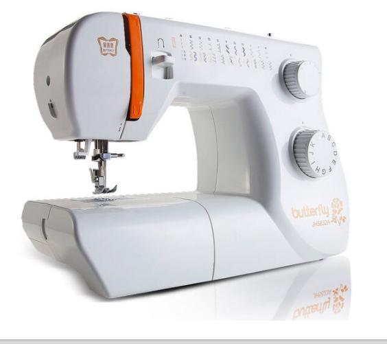 BUTTERFLY Bướm cái máy khâu hàng điện gia dụng và bướm bài có nhiều khả năng máy khâu JH5832A máy gi
