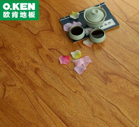 O.KEN  (O.KEN) sàn tăng cường hợp sàn gỗ 12mm phù điêu sàn gỗ 520