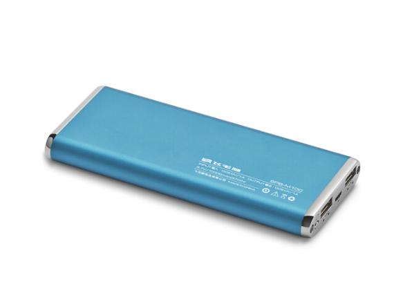 SCUD Người dò đường (SCUD) người dò đường. M100 polymer chuyển điện / sạc bảo 10.000 ma đôi USB xanh