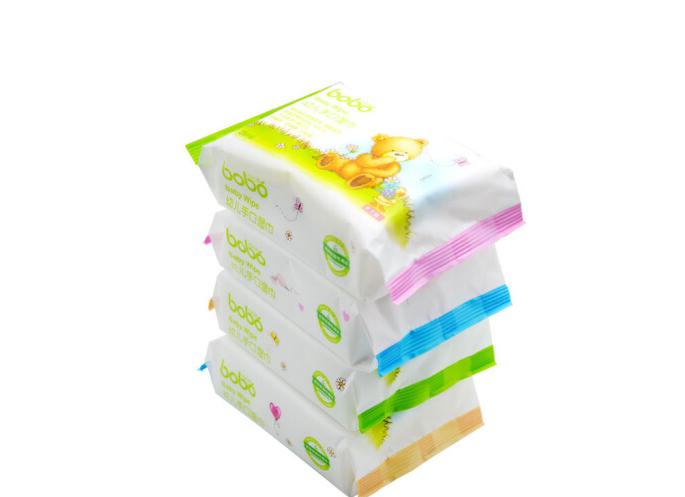 bobo Sợi len (Bobo) em bé miệng được tay chuyên dụng (25 mảnh khăn giấy ướt *4)