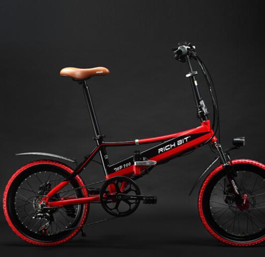SUNRA Máy xe đạp gập điện khí 48V pin liti trung tính xách tay bình điện xe đạp xe truyền trợ lực ng
