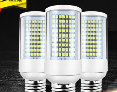 JINXILI Cắm đèn LED bóng đèn tiết kiệm điện dẫn ngang 3W/5W/7W/9 ngói Ngô E27 ốc miệng đèn lớn bóng