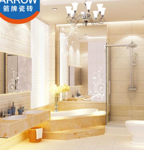 ARROW Nhà bếp nhà vệ sinh gạch tráng men bên trong bức tường gạch sàn sáng mảnh ghép, Kim Thạch AW63