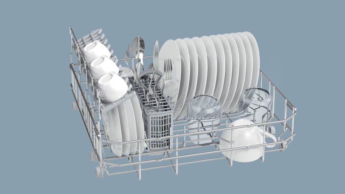 Máy rửa chén   Siemens sk26 e821eu IQ 300 máy rửa chén / + / 174 ki - lô - oát khi / / năm / 6 lít /
