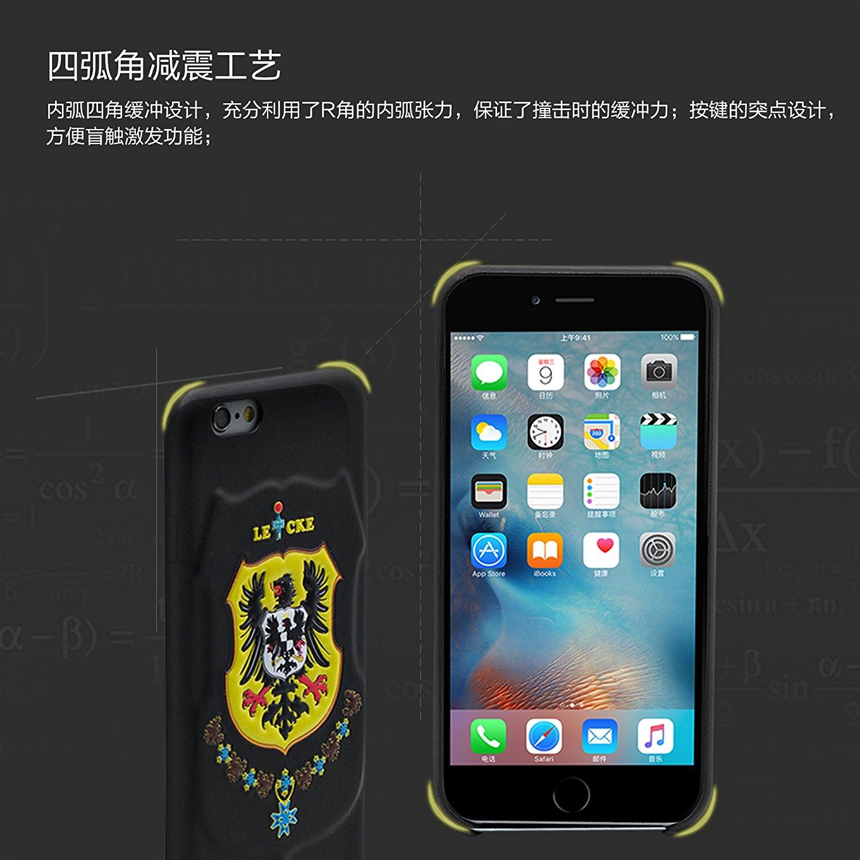 Leicke Đức Leicke Lake iPhone6/6s Plus là điện thoại di động hệ quả táo 6/6S plus bảo vệ vỏ điện tho