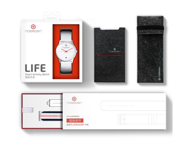 NOERDEN  Đồng hồ thông minh NOERDEN pháp đồng hồ thông minh Thụy Sĩ LIFE nylon dây đồng hồ thông min