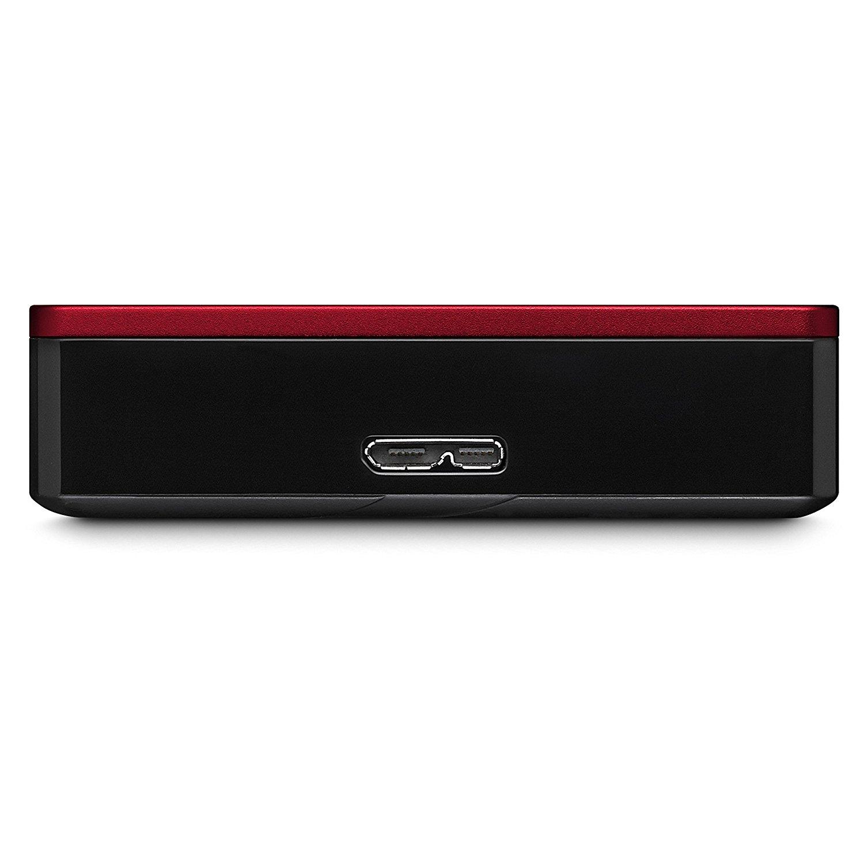 Ổ cứng di động  dự trữ Seagate Technology và USB. 3.0 4 TB mang thức bên ngoài đón ổ đĩa cứng, màu đ