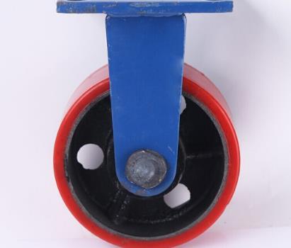 BUBUNIU Nhà sản xuất bán được 6 inch polyurethane nặng sang công cụ mài mòn vòng bánh xe bánh xe tải