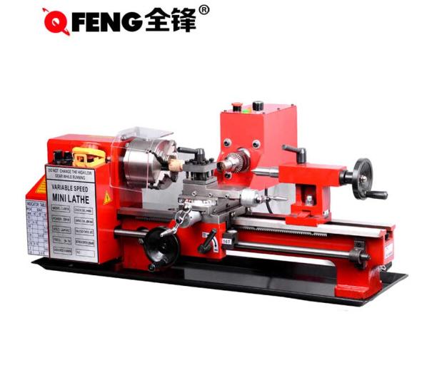 QUANFENG Máy tiện nhỏ có nhiều khả năng nhà máy chế biến gỗ hạt chuỗi tràng hạt chuỗi tay thợ mộc má