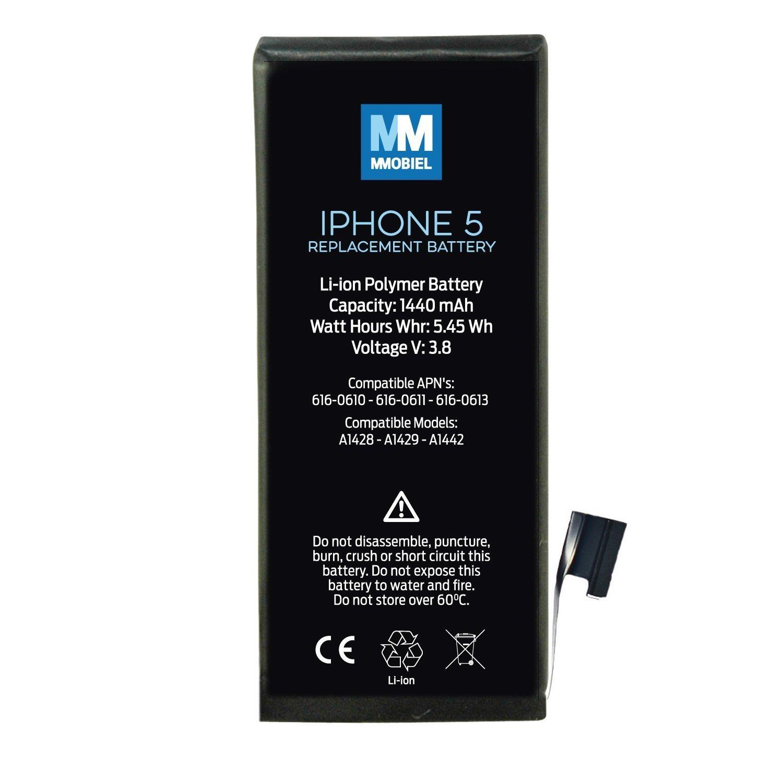 MMOBIEL     Iphone nhiều loại pin tích hợp công cụ chuyên dụng, chứa 2 tua vít MMOBIEL (Iphone 5 pin