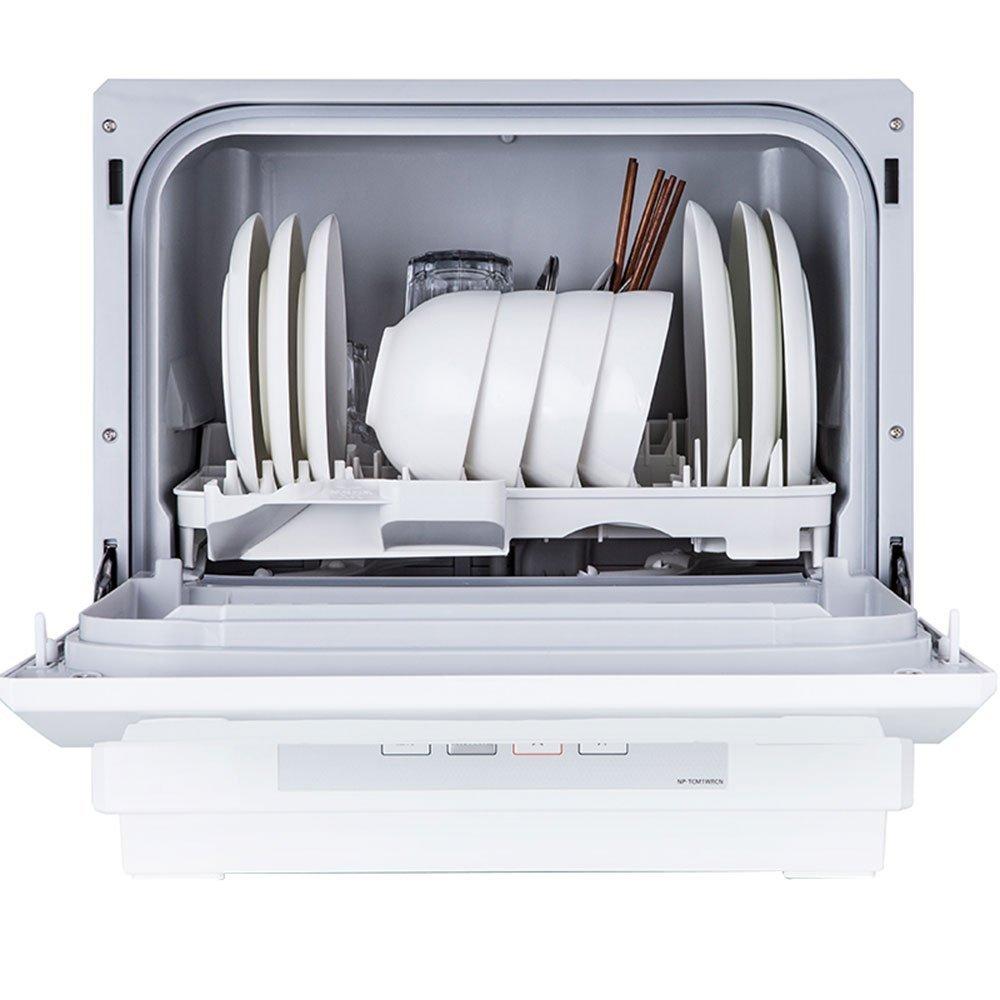 Máy rửa chén   Panasonic Panasonic NP-TCM1WRCN hoàn toàn tự động kiểu tủ đứng vào góc 360 ° không la