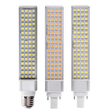 ENLATU siêu sáng cả nhôm dẫn hoành vào bóng đèn G24E27 ốc miệng Đèn xưởng gốm áp thấp 12V Ngô 24v36v